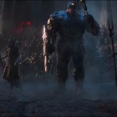 Midnight y la Orden Oscura llegan a la Batalla.