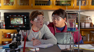 Peter & Ned (Science Lab BTS)
