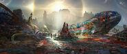 Thor Ragnarok 2017 concept art 159