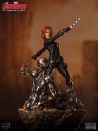 Widow statue