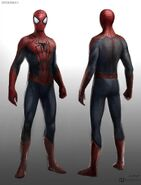 Amazing Spider-Man 2 Concept Art Suit Costume 1