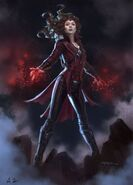 Wanda Special Suit CW Earth-61615