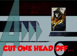 77-Cut One Head Off...