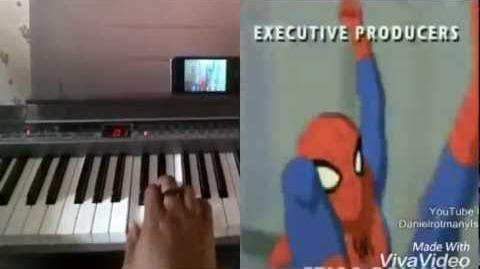 Spectacular Spider-Man on Piano thru Google Glass