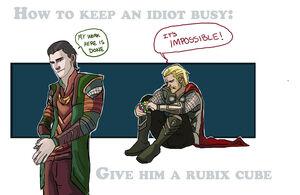 Loki & Thor 1