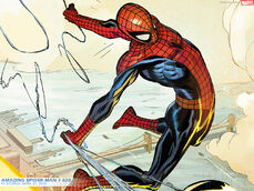 Spiderman comic cartoon picture for tablet (1)