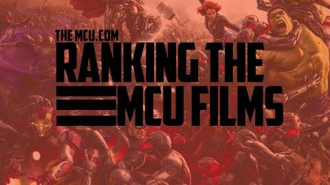 Ranking the MCU movies!