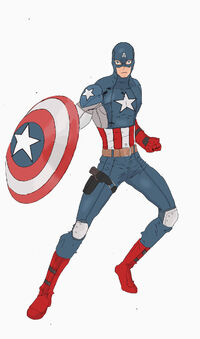 Ultiverse Captain America redesign