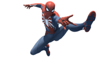 Insomniac spider man advanced suit by kalamation dd9wenz