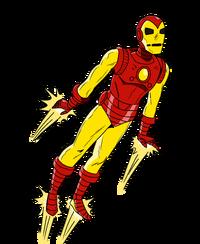 Iron Man transparent