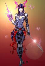 Psylocke redesign by crimsonsea-d36y666