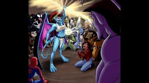 The Spectacular Spider Man Meets Gargoyles - Radio Play