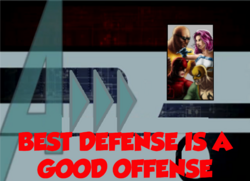 156-Best Defense is a Good Offense