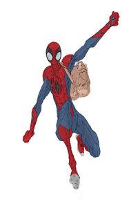 Ultiverse Spider-Man swinging2