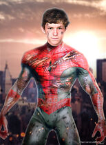 Tom holland as spider man by timetravel6000v2 d8zbo1h