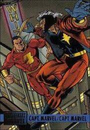 Capt. Marvel vs Capt. Marvel