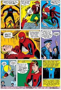7-Spider-Man finds the Burglar (flashback)