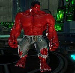 Red Hulk (Marvel Ultimate Alliance)