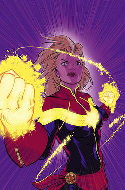 Captain marvel earth 609
