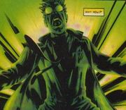 Bruce exposed to gamma rays