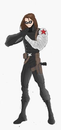 Ultiverse Winter Soldier (masked)