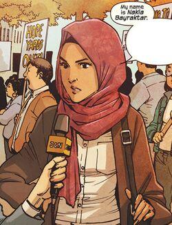 Nakia Bahadir (Earth-1010)