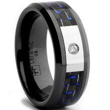 Oliveti-Black-Ceramic-Mens-CZ-Black-and-Blue-Carbon-Fiber-Inlay-Ring-8-mm-P15276923