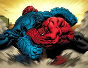 Red Hulk vs A-Bomb
