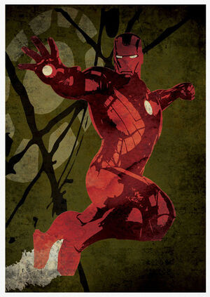 Poster-retro-iron-man