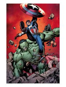 Cap vs Hulk