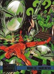 Riddler vs Daredevil