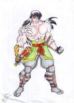 Amadeus cho prince of power ii by sansomon-d9e8uau