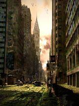 Post-apocalyptic-city-by-amartia
