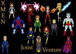 X-Men Joint Venture team