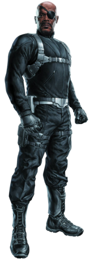 The avengers nick fury render by american paladin-d5zf42n