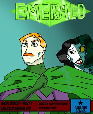 Emerald Annual 2 Cover