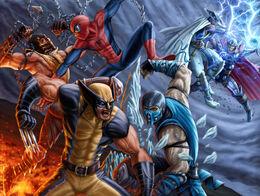 Mortal Kombat vs Marvel Universe: War Of The Worlds (video