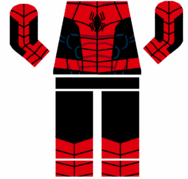 Lego spider-man the web series body decal