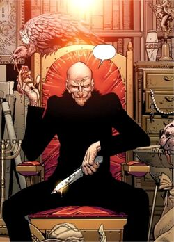 Vulture Toomes during Rehab Earth-61615