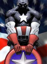 Captain America Broken
