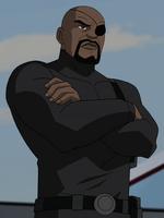 Nick Fury Earth609