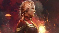 Captain Marvel in Nexus