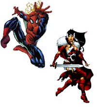 Earth-5 Team-Up -1 Textless