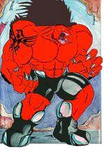 Red hulk 2099 by sansomon-d5e7ii8