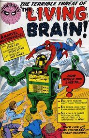 9-Spider-Man vs Living Brain