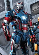 Rhodes Iron Patriot Earth-61615
