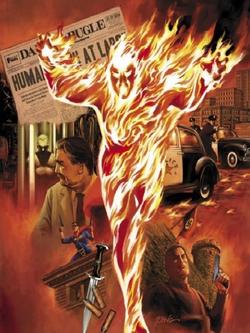 Human Torch A 166 012