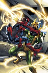 Earth-333-Spider-Man-vs-Electro