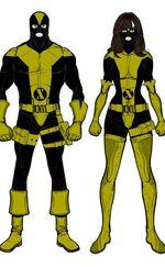 X-Uniforms (not spandex)