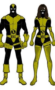 X-Uniforms (not spandex)